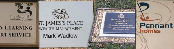 Engraved Plaques, Signs and Name Plates