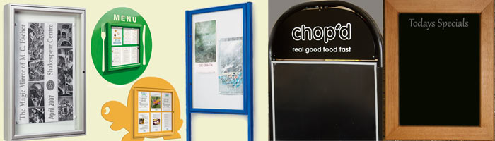 Notice Boards, A-Boards & Blackboards