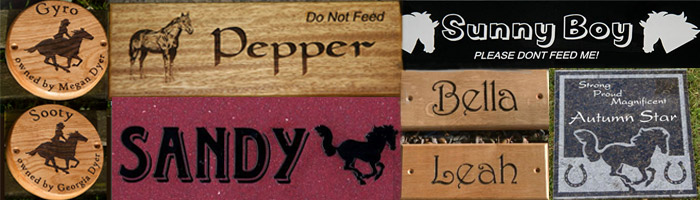 Stable Name Signs Make Stable Door Signs And