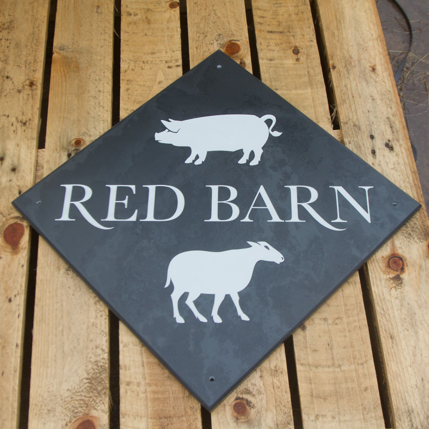 12mm Made to Measure Slate House Signs