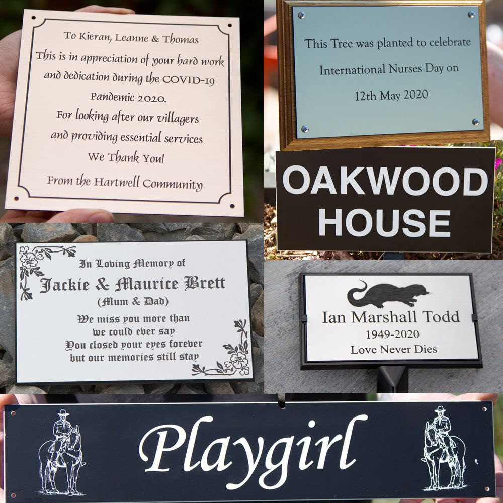 Acrylic Laminate Sign