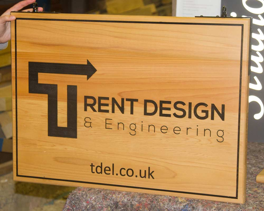 Douglas Fir Signs- Ideal for large Signs