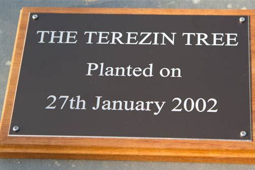 Engraved Aluminium Plaque &  Backing Board