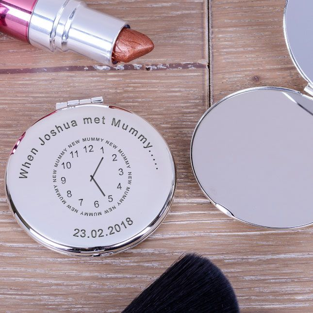 Engraved Compact Mirrors
