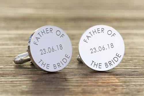 Father of the Bride/Groom  Cufflinks