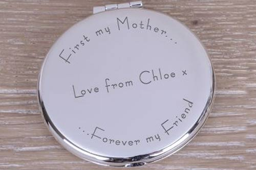 First my Mother -  Engraved Gift Mirror