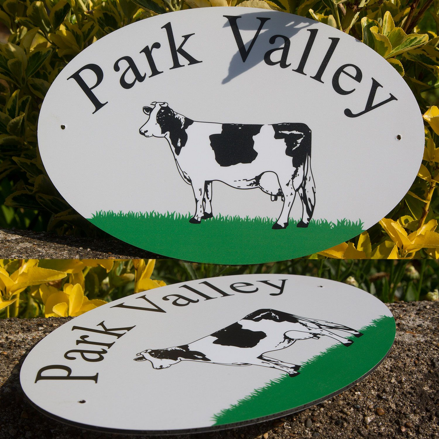 Full Colour Value House Sign - Aluminium Composite