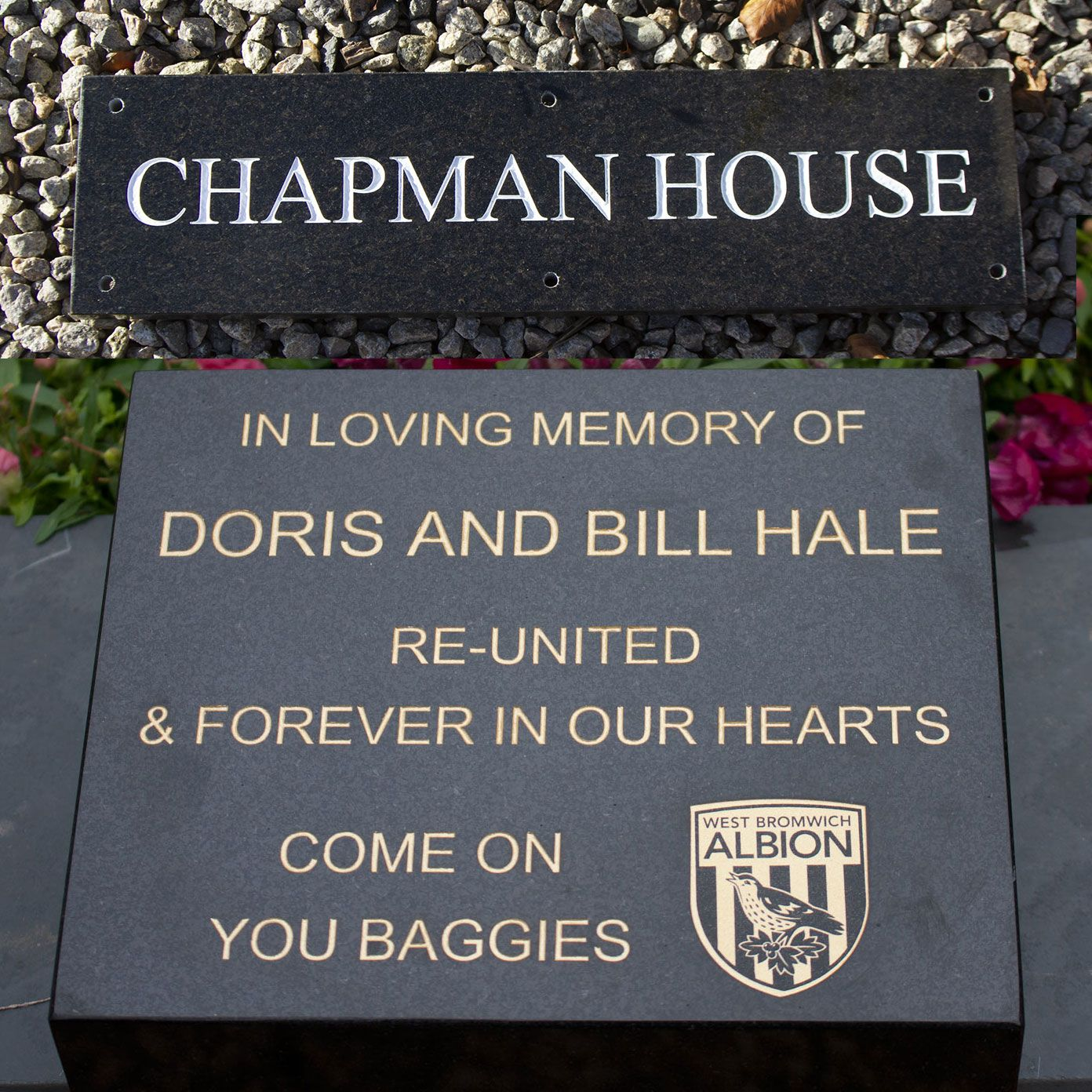 Granite Signs / Memorials  20mm, 30mm, 50mm thick