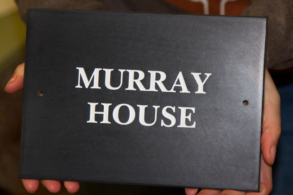 House Signs in 12mm Corian - Smaller Sizes