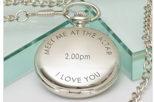 Meet me at the altar - Pocket Watch