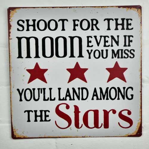 Moon and Stars Sign