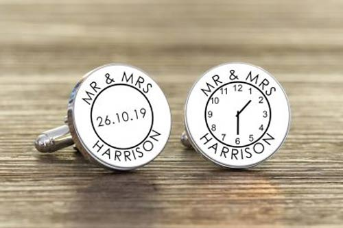 Mr and Mrs Cufflinks