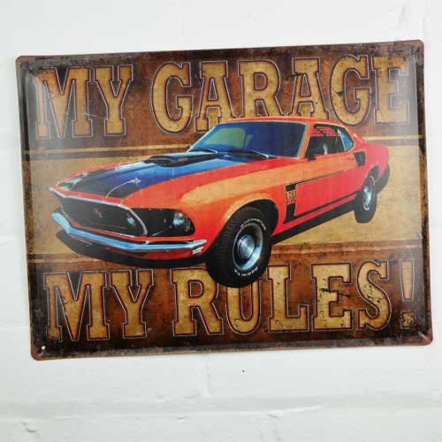 My Garage Sign