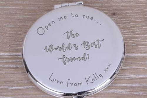Open me to see - The Worlds Best ......    Compact Mirror