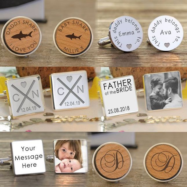 Personalised Cufflinks