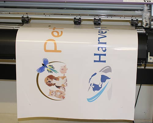 Printed Stickers and Self Adhesive Signs
