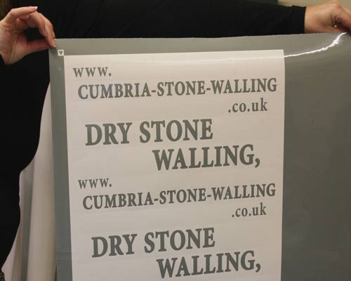 Self Adhesive Vinyl  Lettering & Graphics