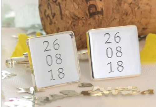 Special Date or Dates Cufflinks