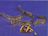 Square Clips with bolts & washers