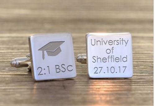 Square Graduation Cufflinks