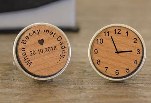 When...met Daddy Cufflinks