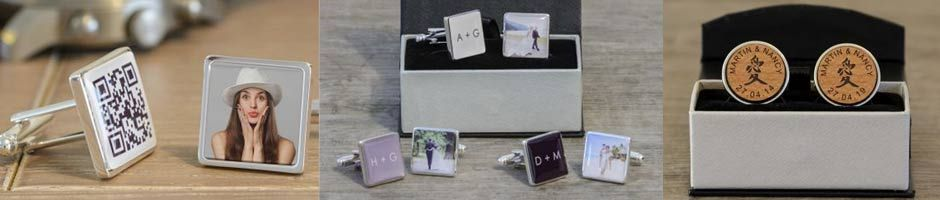 Personalised Cufflinks for all Occasions