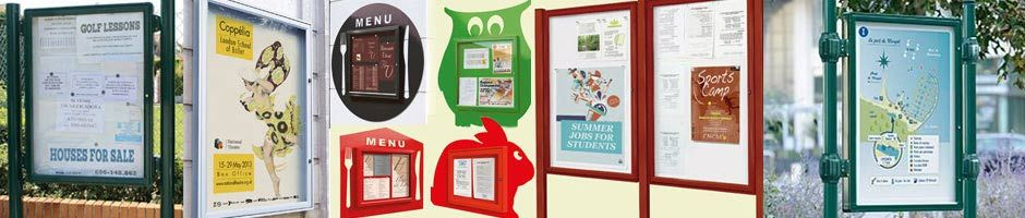 Waterproof Outdoor Notice Boards