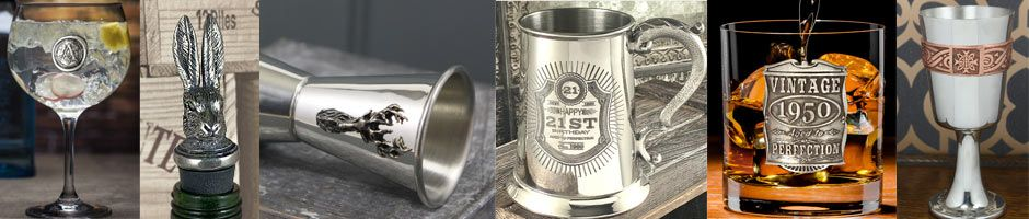 Large selection of Pewter Gifts
