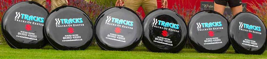 Personalised Spare Wheel Covers